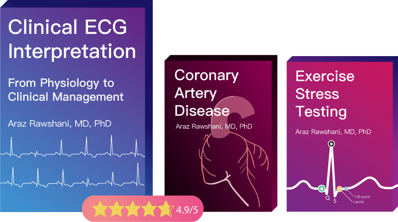Learn clinical ECG interpretation with our online book
