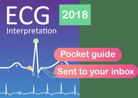 ECG book interpretation pocket guide EKG